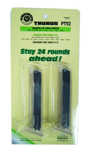 SoftAir Taurus PT92 12 Round Airsoft Magazines (2 Pack)