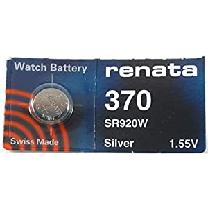 1.55 Volt Watch Battery 370 Replaces SR920W