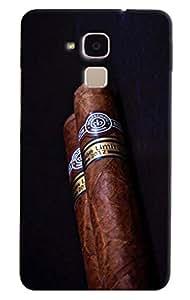 Omnam Special Cigar Printed Designer Back Cover Case For Huawei Honor 5C