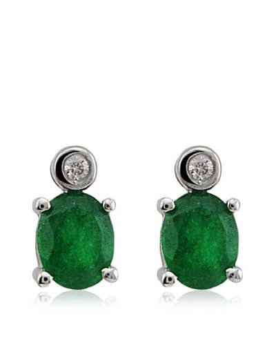Divas Diamond Pendientes Diamante Cuarzo