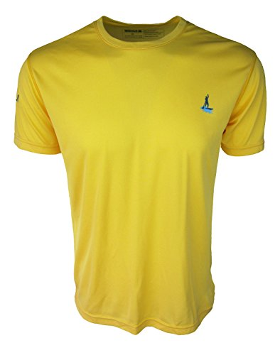 Stand up paddle board sup shirt mens short sleeve sun for Fly fishing sun shirt