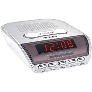 jensen jcr 150 am fm alarm clock radio electronics. Black Bedroom Furniture Sets. Home Design Ideas