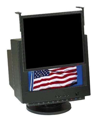 M Black Framed Privacy Filter for Standard LCD/CRT Desktop Monitor fits 17