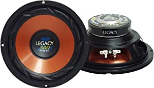 Legacy LWF10X 10'' 400 Watt Legacy ''L'' Series Woofer (Set of 1) by Sound Around