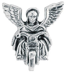 All American Leathers Guardian Angel Pin To Ride With You GA-1
