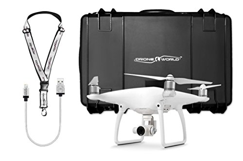 DJI Phantom 4 Bundle with Black Wheeled Hard Case