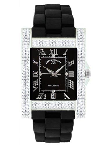 André Belfort - 410120 - Montre Femme - Automatique - Analogique - Bracelet Céramique Noir