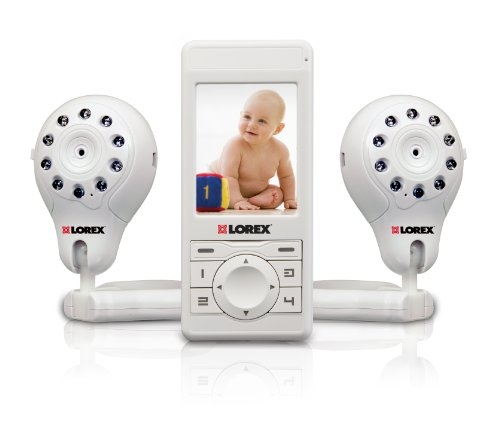 Lorex LW2003PK2 Live Snap Video Baby Monitor with Two Cameras