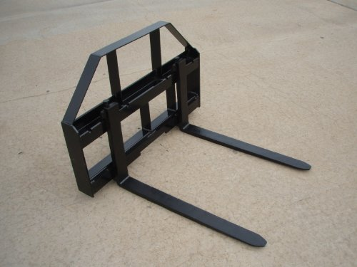 Titan HD Pallet Fork Attachment 42 Inch for Skid Steers and Tractors