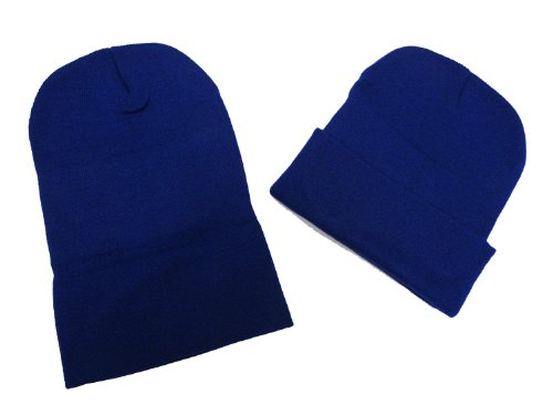 Black Friday/ Cyber Monday Deal! 2 Pack Knit Beanies / Royal Blue / Great Price!