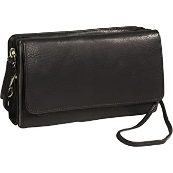 Osgoode Marley Cashmere Wallet Bag (Black)