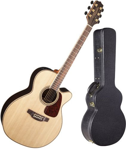 Takamine Gn93Ce-Nat Gloss Natural Nex Acoustic Electric Guitar W/ Hardshell Case