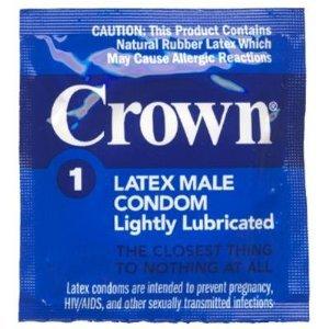 36 Okamoto Crown Condoms, Super Thin Condom