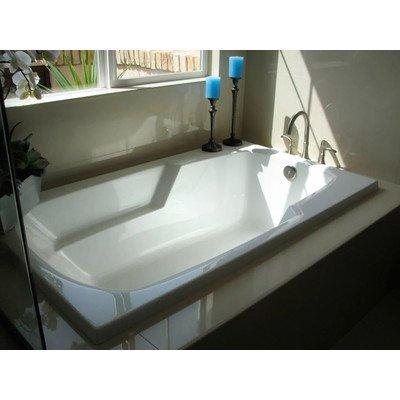 Designer 60 x 36 Solo Air/Whirlpool Bathtub with Thermal System Finish: White mannol hydro hv 46