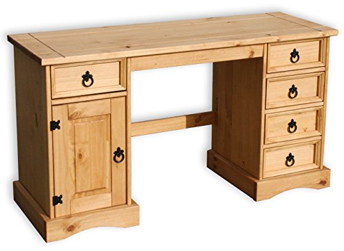 kmh massivholz schreibtisch corona aus edler pinie 201017 com forafrica. Black Bedroom Furniture Sets. Home Design Ideas