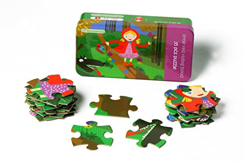 The Purple Cow Fairy Tale Little Red Riding Hood Jigsaw Puzzle