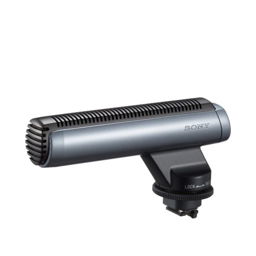 Sony Ecm-Hgz1 Shotgun Microphone For Dcr-Pc55, Dcr-Dvd305, Dvd 405, Dvd 505, Hdr-Hc1, Hc5, Hdr-Ux1, Ux5, Dcr-Sr100 & Sr200 Camcorders