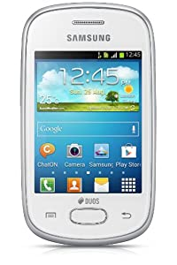 Samsung Galaxy Star GT S5282 (Ceramic White) available at Amazon for Rs.4200