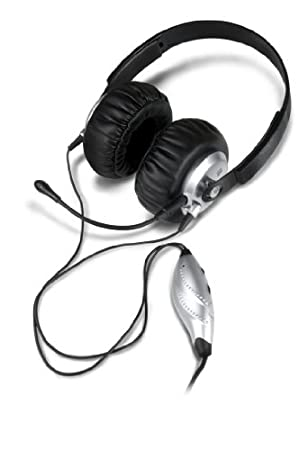 PS3 Gaming Headset for Adjustable Game Audio and Voice Chat