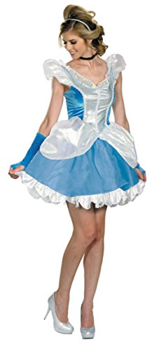 Disguise Womens Deluxe Sexy Cinderella Ball Room Disney Princess Fancy Costume