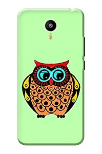Meizu m3 Note Back Cover KanvasCases Premium Designer 3D Printed Lightweight Hard Case