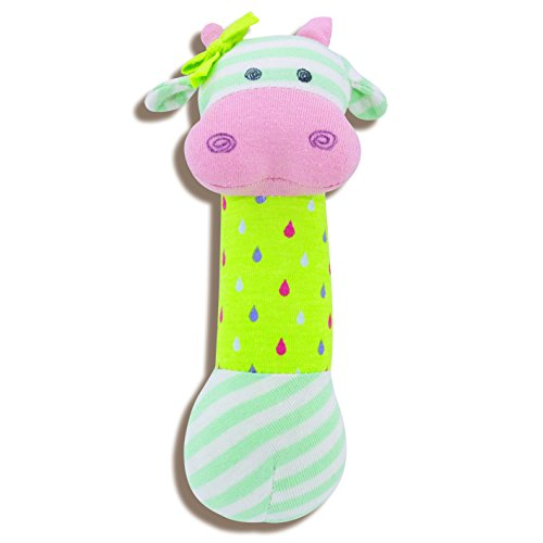 Organic Farm Buddies, Belle Cow Squeaky Toy
