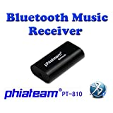 Gadget Hero's Phiateam Bluetooth 3.5mm Audio Music Receiver Adapter A2DP For Phone Tablets Computer
