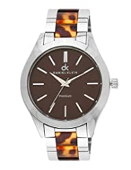 Daniel Klein Analog Brown Dial Women's Watch - DK10512-6