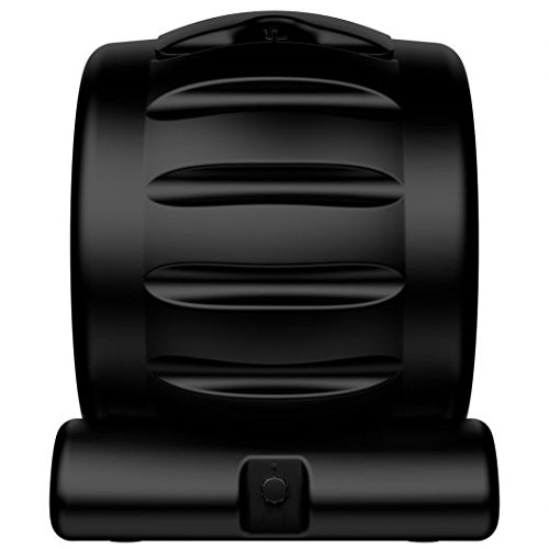 The Most Beautiful Composter in the World, Made in the USA, Food Safe, BPA and Rust Free, No Assembly Required, Envirocycle Composting Tumbler Bin and Compost Tea Maker