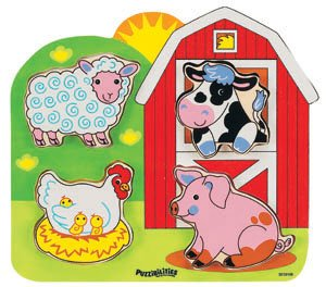 Cheap Small World Toys Puzzibilities Farm Animals Puzzle (B000FPHGQQ)