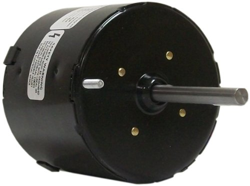 Fasco D1139 3.3-Inch Diameter Shaded Pole Motor, 1/50-1/80-1/125 HP, 115 Volts, 1500 RPM, 3 Speed, 0.88 Amps, CW Rotation, Sleeve Bearing