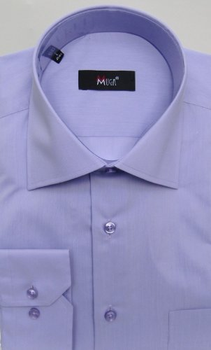 MUGA mens shirts for Casual and Formal, Thistle, Size L