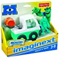 DISNEY PIXAR MONSTERS UNIVERSITY IMAGINEXT SULLEY & TRUCK