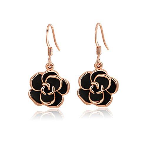 yc-top-elegant-classic-black-rose-18k-rose-gold-plated-charm-lady-dangle-earrings