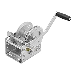 Fulton 3200 Lbs Automotive Marine Sail Boat Two Speed Cable Winch - HP Series