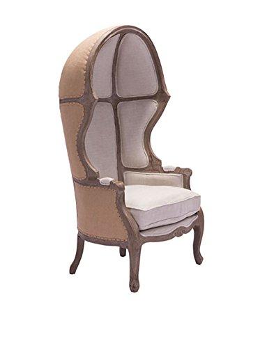 Zuo Modern Ellis Modern Occasional Chair, Beige