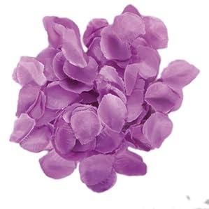 Seidenähnliches Rosenblatt-Konfetti in LILA // Tüte mit 144 lila-violetten Rosenblätter // Deko Tischdeko Jubiläum Streukonfetti Geburtstag Birthday Rosen Seide Liebe Herz Hochzeit Standesamt Vermählung lila violett