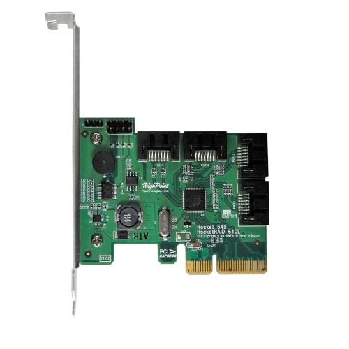 HighPoint-RocketRAID-640L-Internal-4-Port-PCI-Express-2-0-x4-SATA-3-6Gpbs-Contro