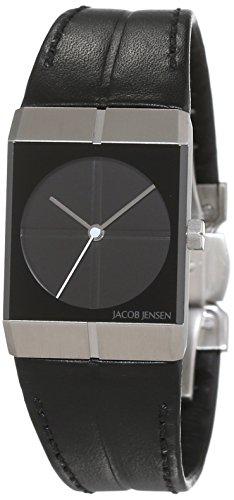 Jacob Jensen Icon Unisex-reloj analógico de cuarzo cuero Jacob Jensen 240