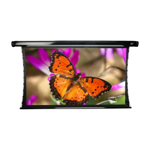 "Elite Screens Te92Hr2 Cinetension2 Electric Rear Projector Screen (92 Inch Diagonal 16:9 Ratio 45.1""Hx80.2""W)"
