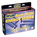 Taylor Cable 60651 Blue 8mm High-Energy Universal Resistor Core Wire Set