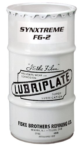 Lubriplate L0305-039 Synxtreme Fg-2 Synthetic, Calcium Sulfonate Complex, Food Machinery Grade Grease, 1/4 Drum