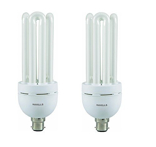 Spiral 45 Watt CFL Bulb (Cool Day Light,Pack of 2)
