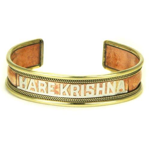 Brass/copper Hare Krishna Bracelet