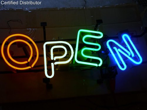 Open Neon Sign & Light - Business Neon - 12