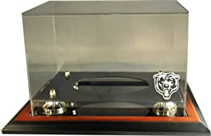 NFL Chicago Bears Zenith Football Display-Brown by Caseworks