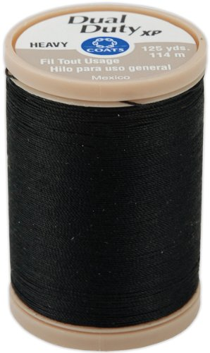 Review Of Dual Duty XP Heavy Thread 125yds - Black