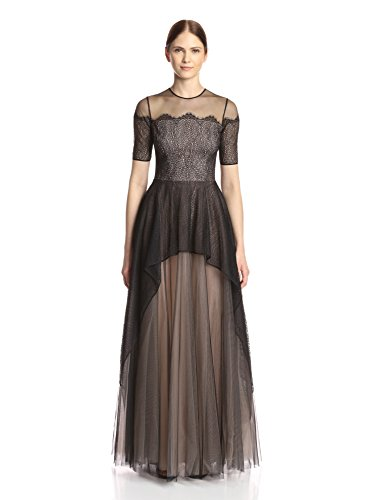 Nha Khanh Women's Brooklynn Lace Gown with Tulle