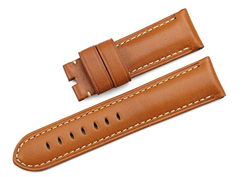 istrap-24mm-genuine-calfskin-padded-prev-watch-strap-fit-22mm-tang-buckle-brown