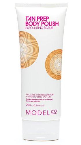 ModelCo  Tan Prep Body Polish Exfoliating Scrub